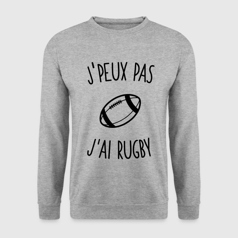 J'peux pas j'ai rugby 1c Sweat-shirts - Sweat-shirt Homme