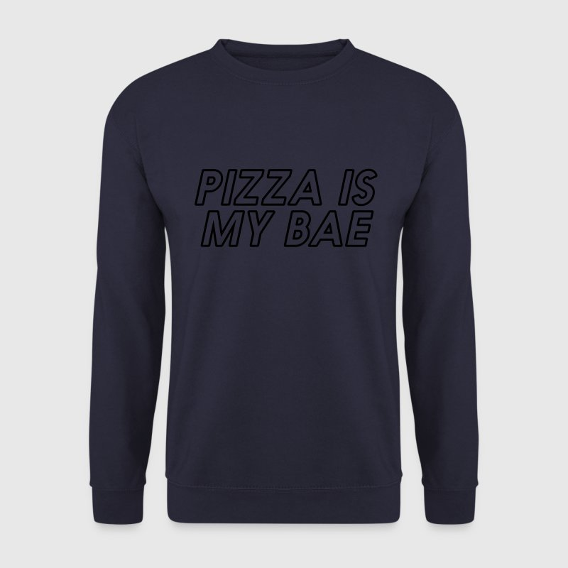 PIZZA IS MY BAE Pullover & Hoodies - Männer Pullover
