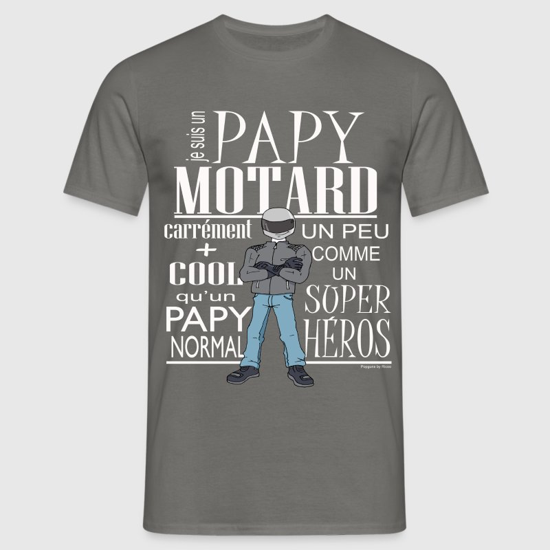 PAPY-MOTARD Tee shirts - T-shirt Homme