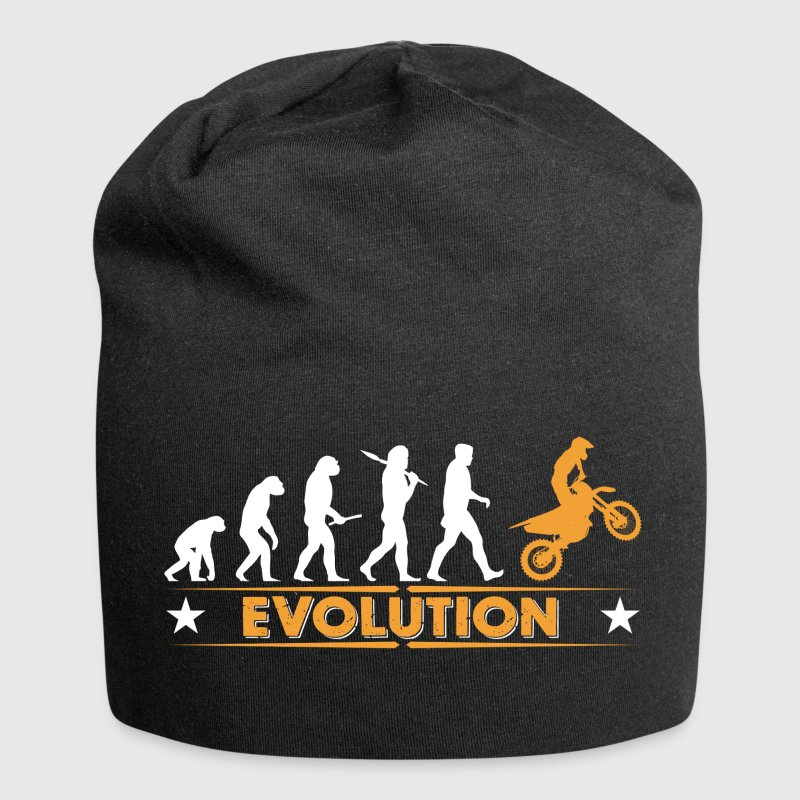Motocross Evolution - orange/weiss Casquettes et bonnets - Bonnet en jersey