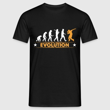 Hip hop break dance evolution - orange/blanc Vêtements de sport - T-shirt Homme