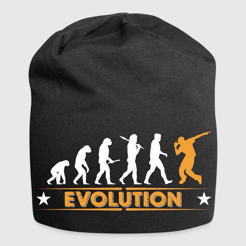 Hip hop break dance evolution - orange/blanc Casquettes et bonnets - Bonnet en jersey