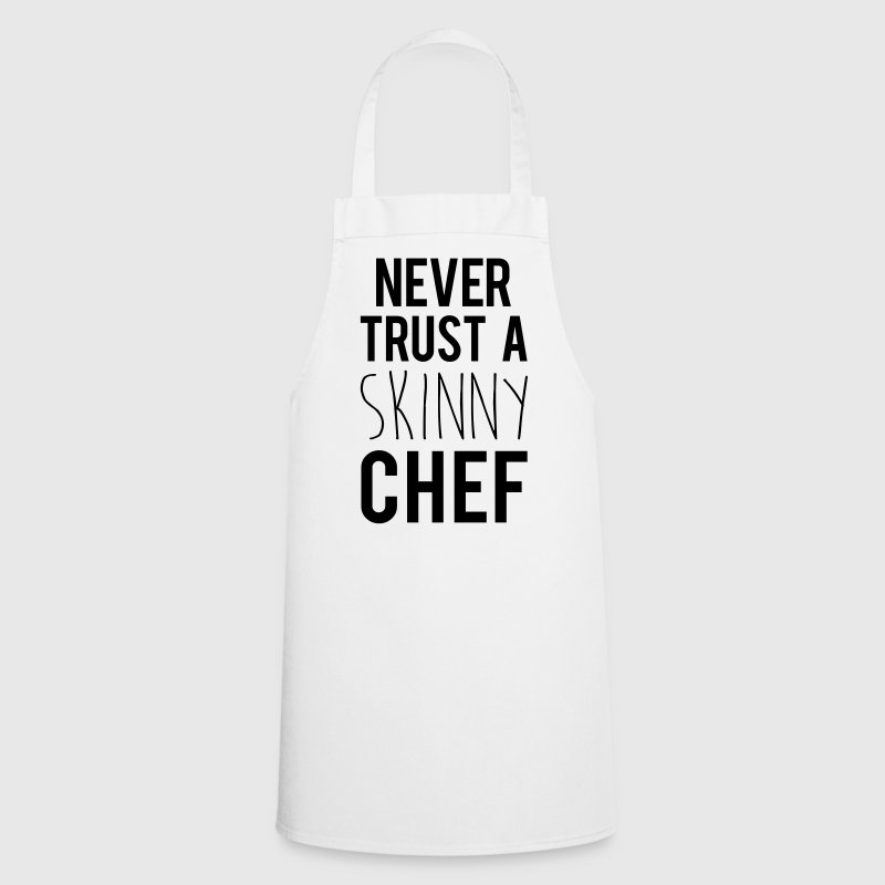A Skinny Chef Funny Quote  Aprons - Cooking Apron