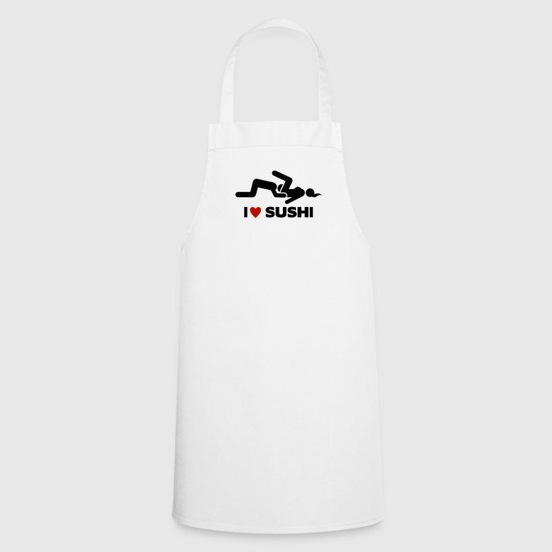 I LOVE SUSHI  Aprons - Cooking Apron