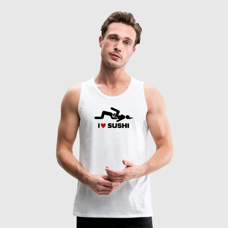 I LOVE SUSHI Sports wear - Men's Premium Tank Top
