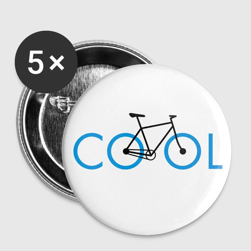 bike cool 2c Buttons & Anstecker - Buttons klein 25 mm