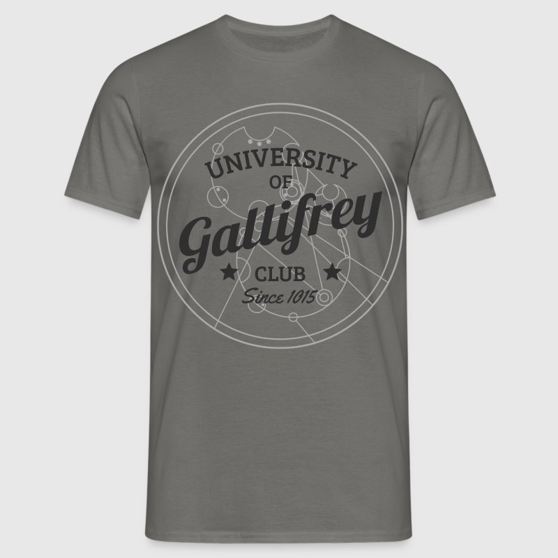 Doctor Who: University of Gallifrey (grau) - Männer T-Shirt