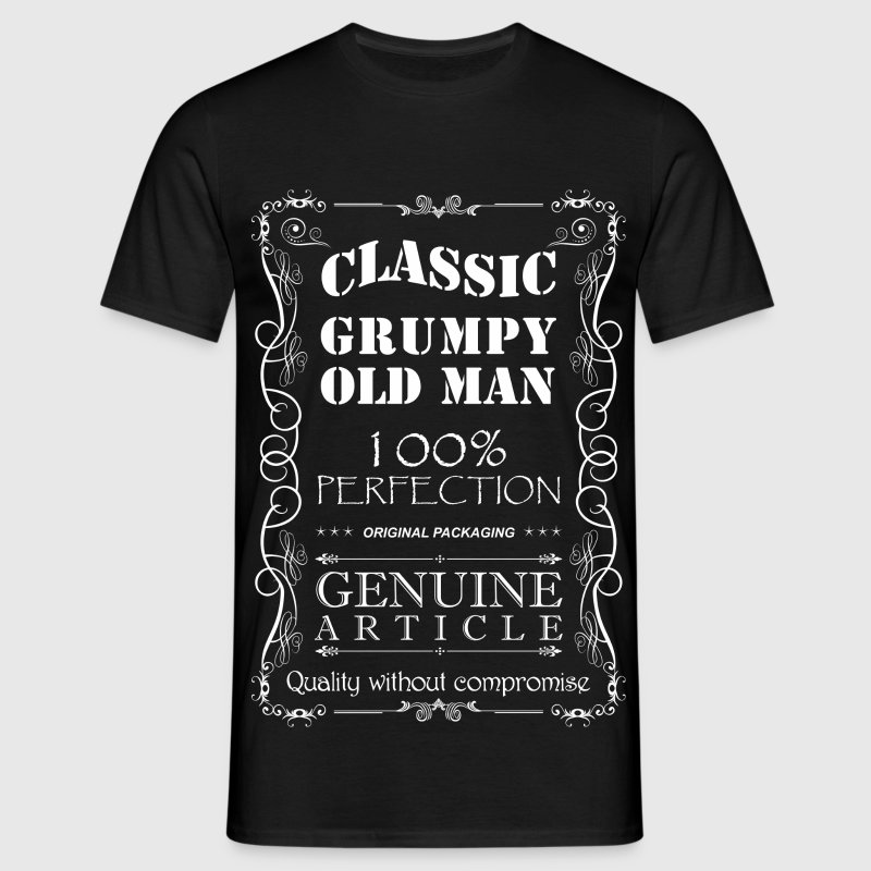 GRUMPY OLD MAN T SHIRT - Men's T-Shirt