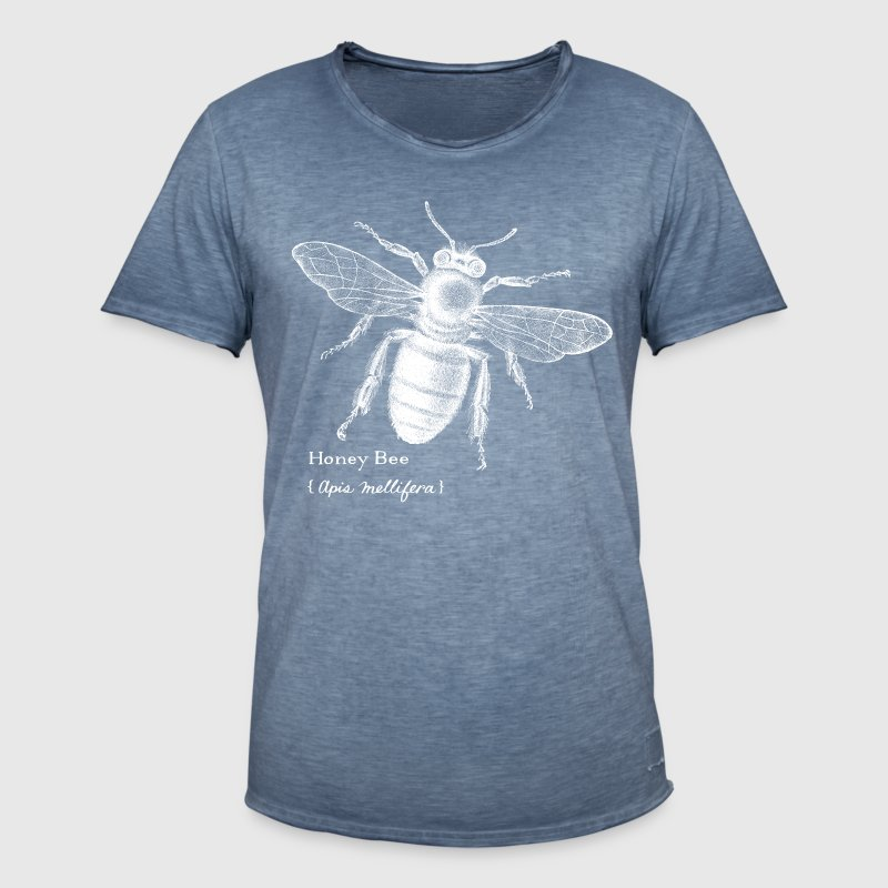 Animal Planet Honigbiene - Männer Vintage T-Shirt