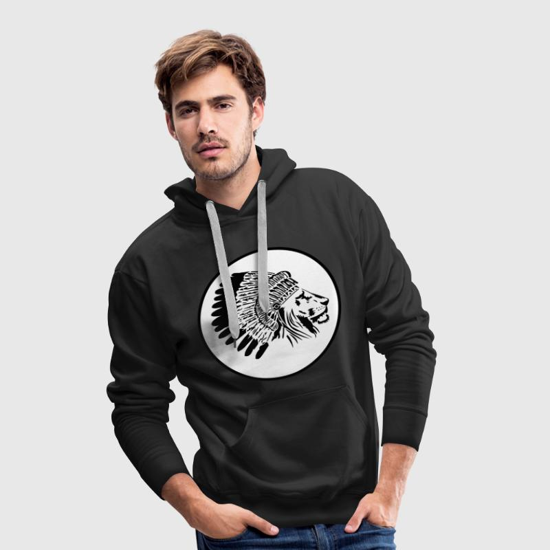 Lion King - Sweat-shirt à capuche Premium pour hommes