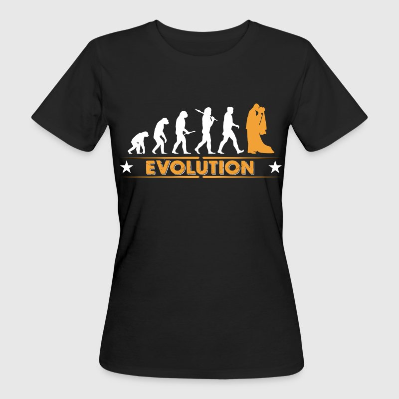 Marriage - evolution T-Shirts - Women's Organic T-shirt