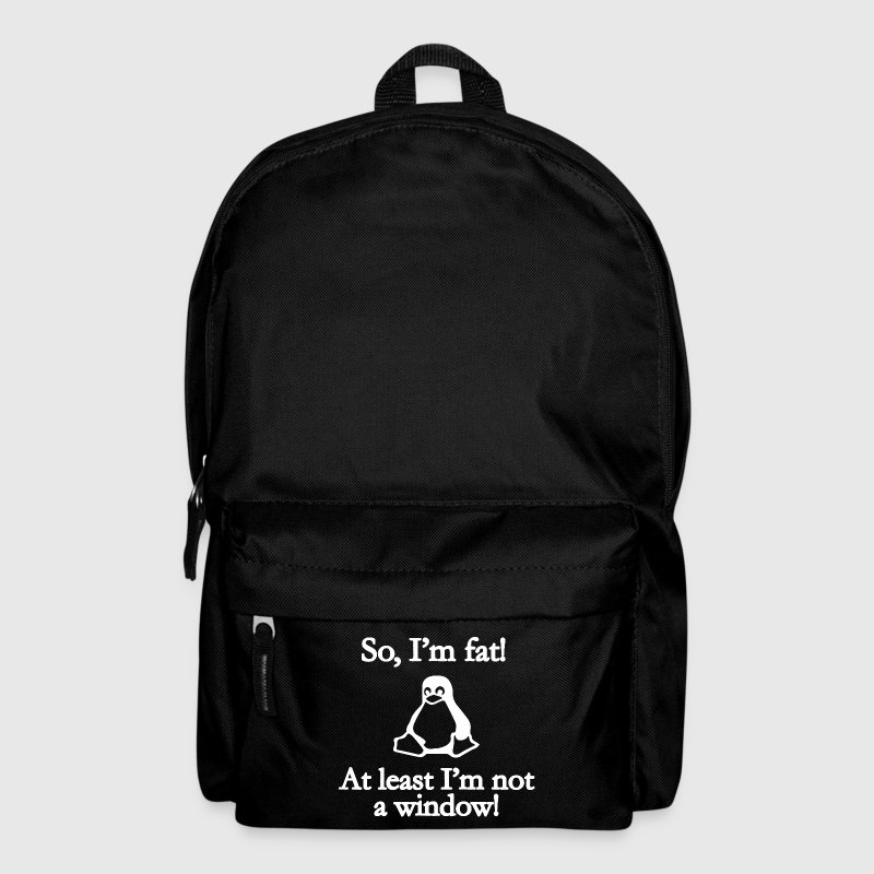 So I'm fat! Bags & Backpacks - Backpack