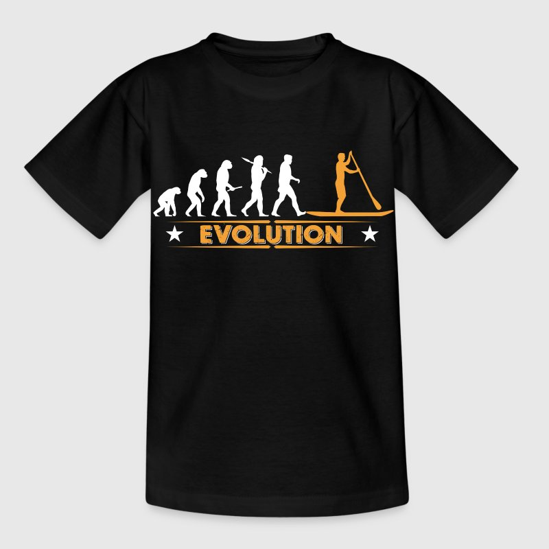 SUP - Stand up paddle - Evolution Shirts - Kids' T-Shirt