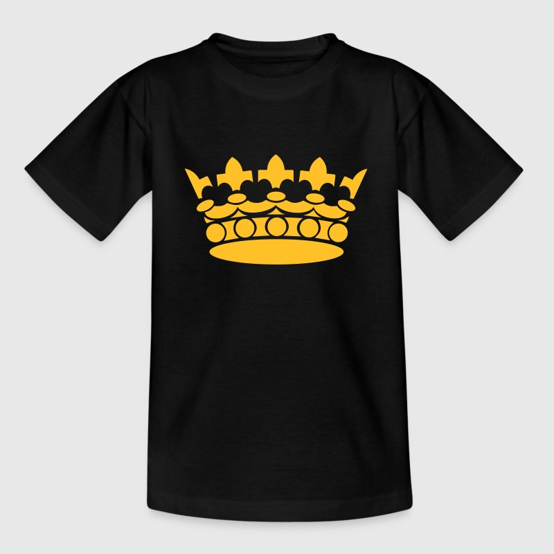 Crown Winner King Queen Princess Shirts - Kinderen T-shirt