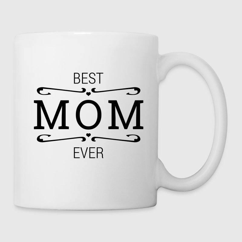 Best MOM ever Becher Muttertag Muttertagsgeschenk - Tasse