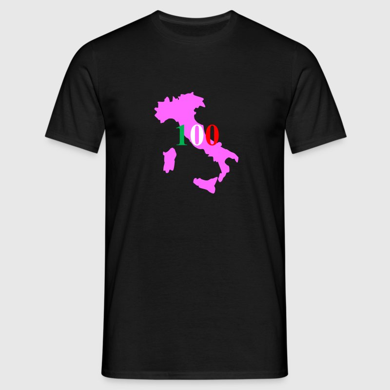 giro d'italia pink with Flag colours - Men's T-Shirt