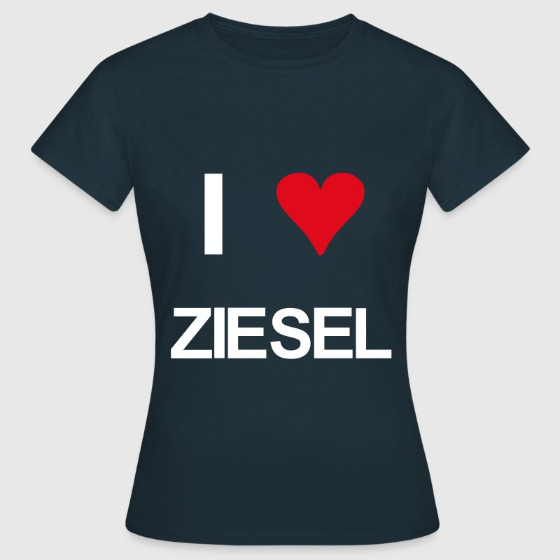 I love ziesel - Frauen T-Shirt