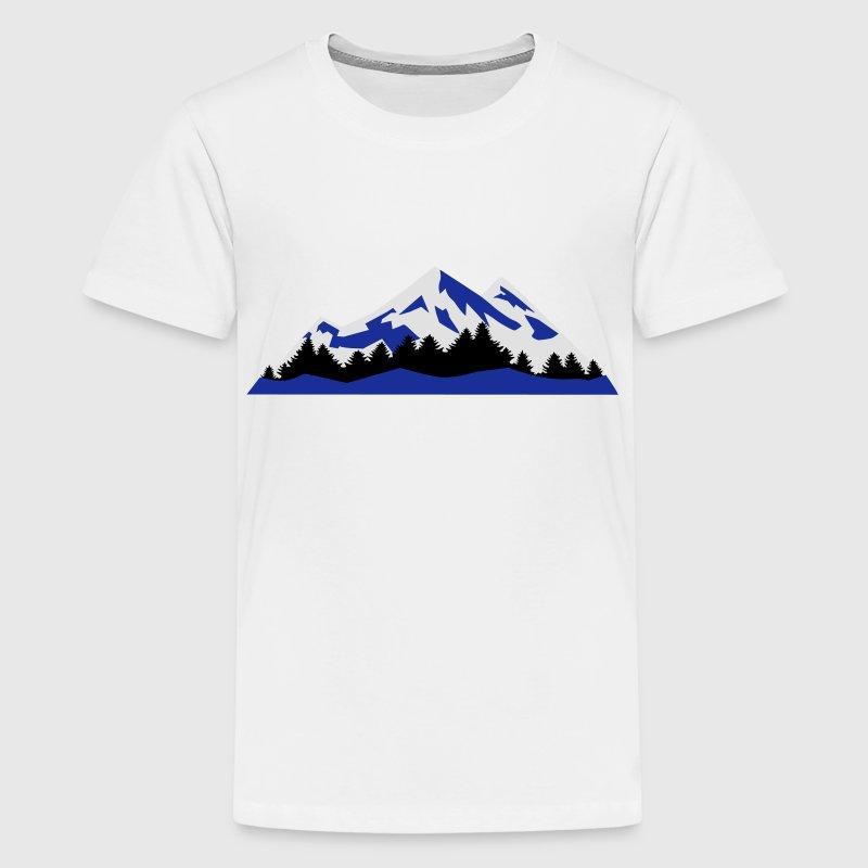 Mountain, Winter Landscape (super cheap) T-Shirt   Spreadshirt