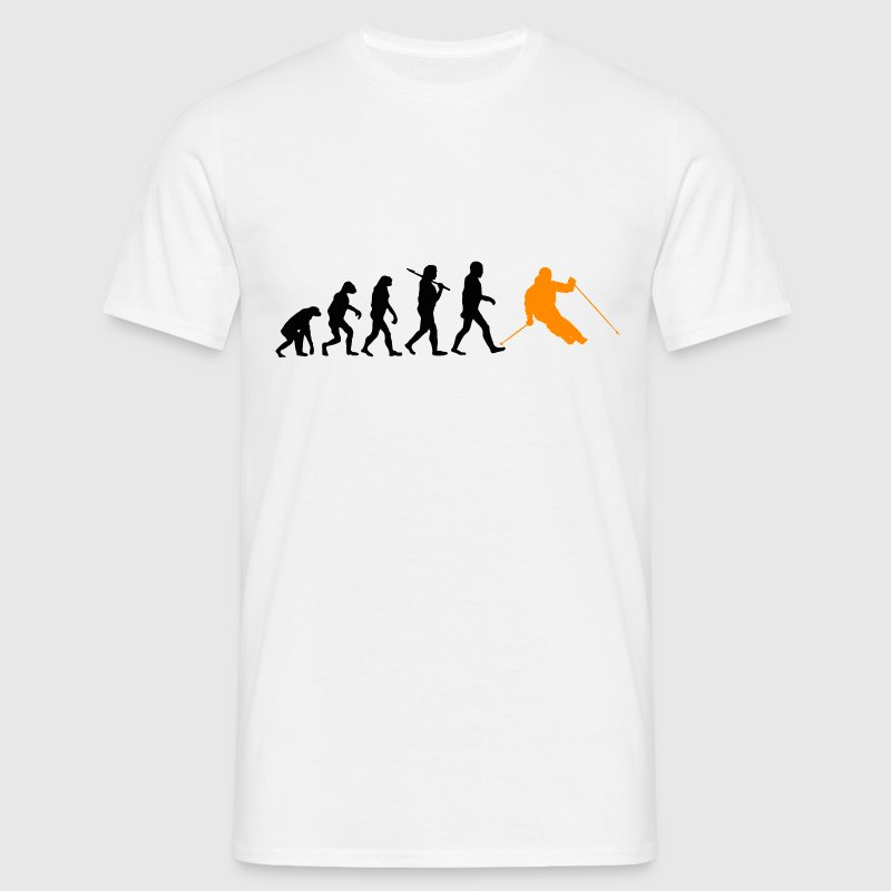 Evolution Ski T-Shirts - Männer T-Shirt