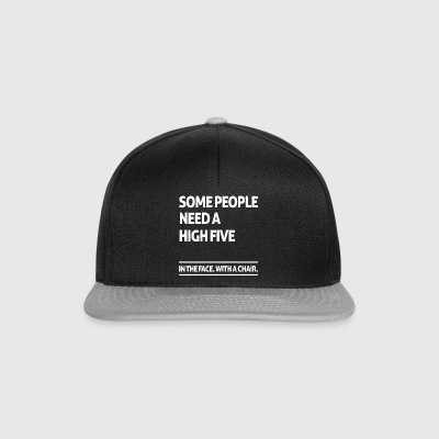 Some people need a high five (dark) Bouteilles et Tasses - Casquette snapback