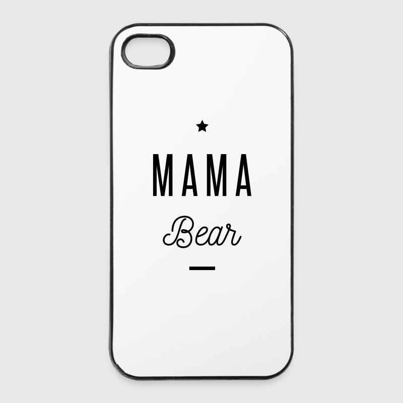 MAMA BEAR Phone & Tablet Cases - iPhone 4/4s Hard Case