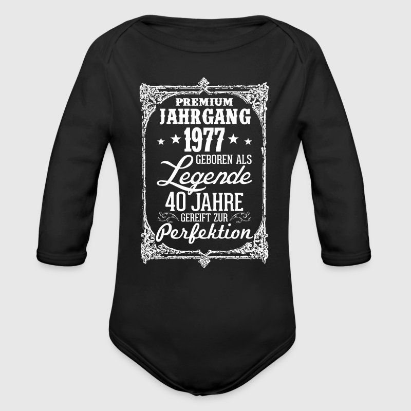 40 - 1977 - Legende - Perfektion - 2017 - DE Baby Bodys - Baby Bio-Langarm-Body