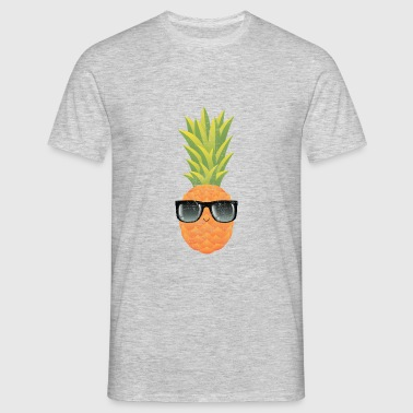 Pineapple With Sunglasses | Cool Illustration Ropa deportiva - Camiseta hombre