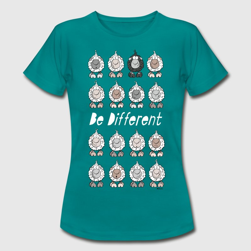 Be Different Sheep T-Shirts - Women's T-Shirt
