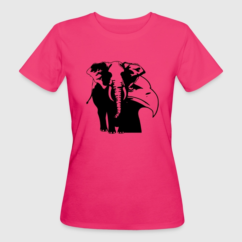 Elephant eagle t shirt spreadshirt for Elephant t shirt women s