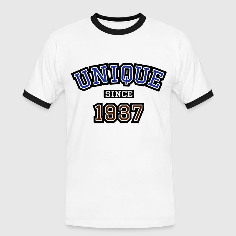uni_1937 Tee shirts - T-shirt contraste Homme