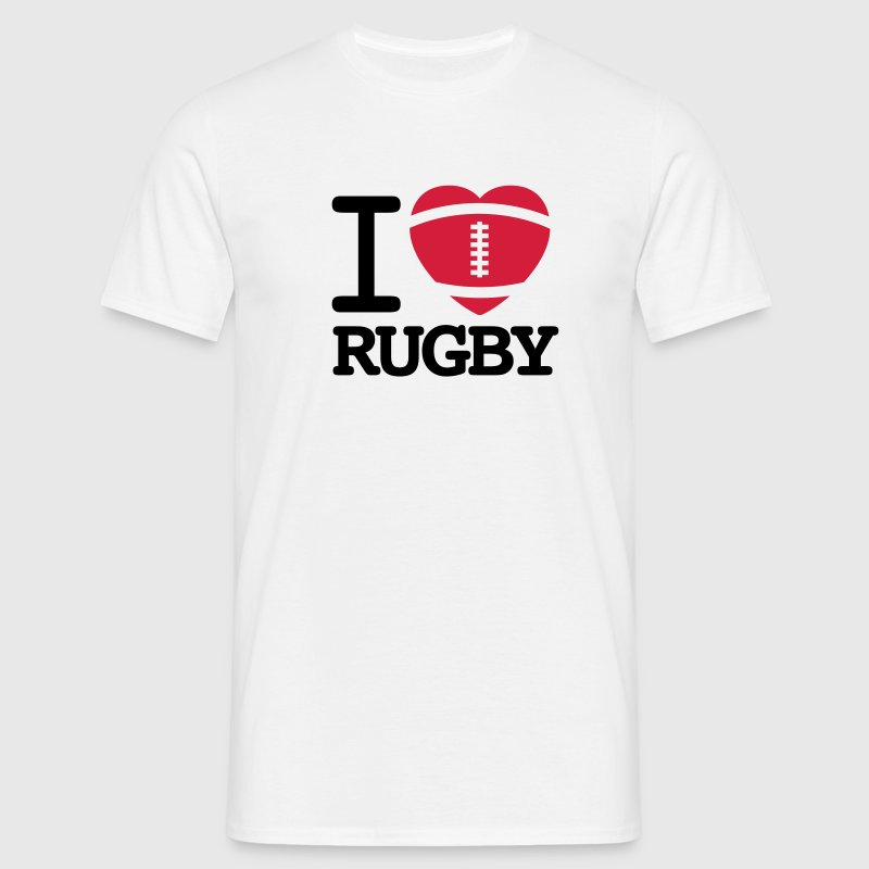 I love Rugby T-Shirts - Men's T-Shirt