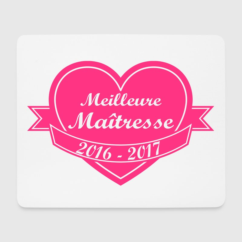 mouse pad meilleure maitresse 2017 maternelle cp cole ce1 spreadshirt. Black Bedroom Furniture Sets. Home Design Ideas