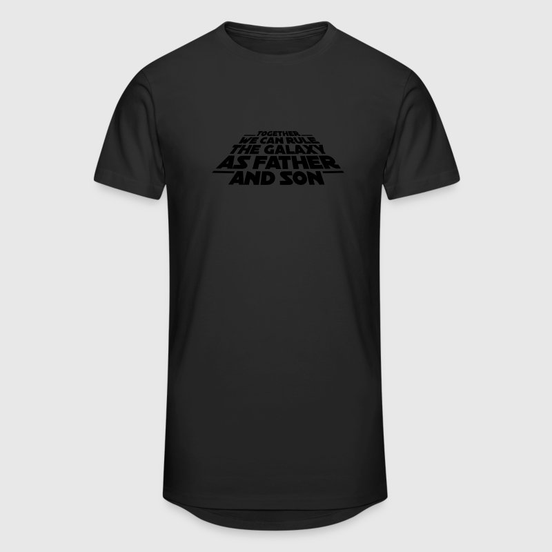 Together we can rule the galaxy as father and son Camisetas - Camiseta urbana para hombre