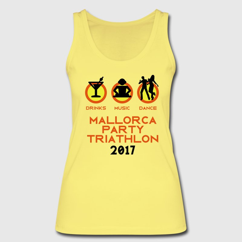 Mallorca Party Triathlon 2017 Tops - Frauen Bio Tank Top von Stanley & Stella