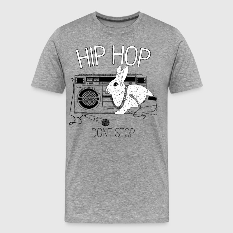 HipHop Dont Stop T-Shirts - Men's Premium T-Shirt