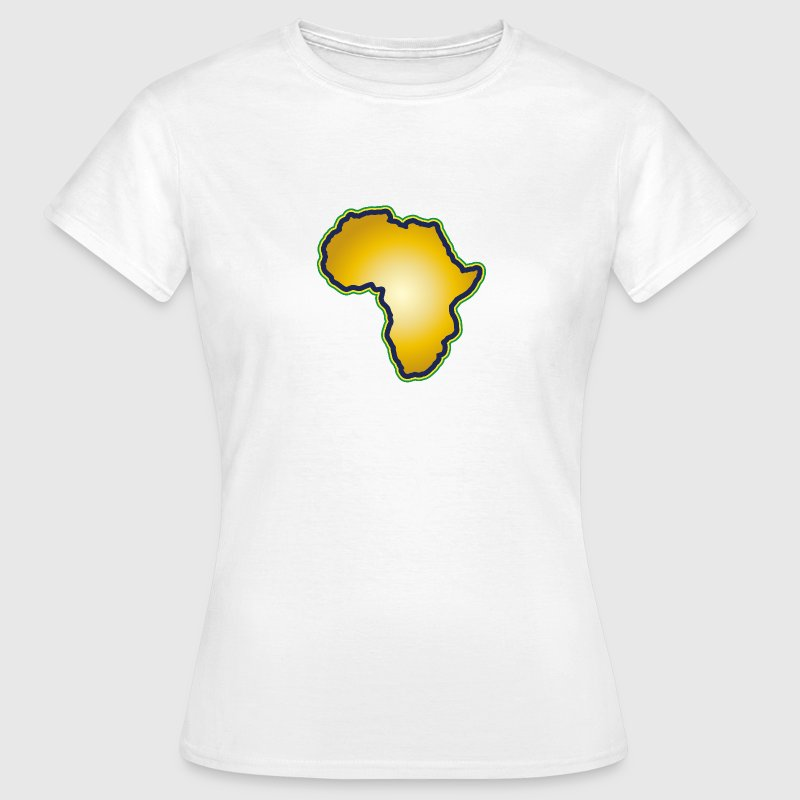 Afrika Big Five Africa Schwarzer Kontinent Safari - Frauen T-Shirt