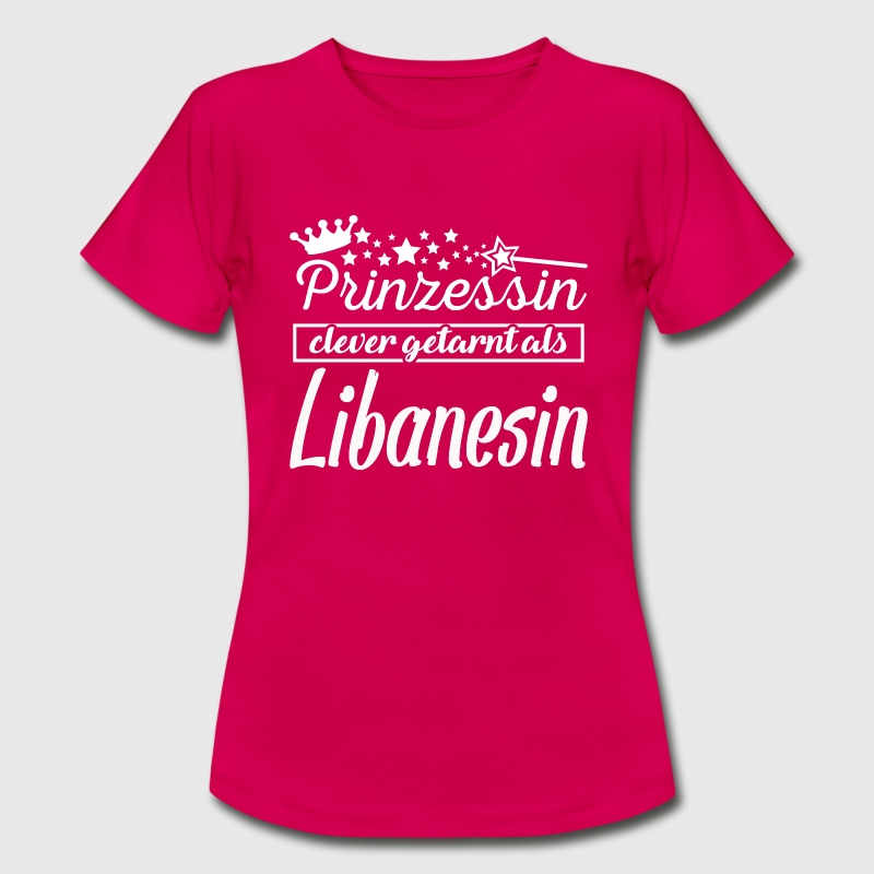 Libanesin T-Shirts - Frauen T-Shirt