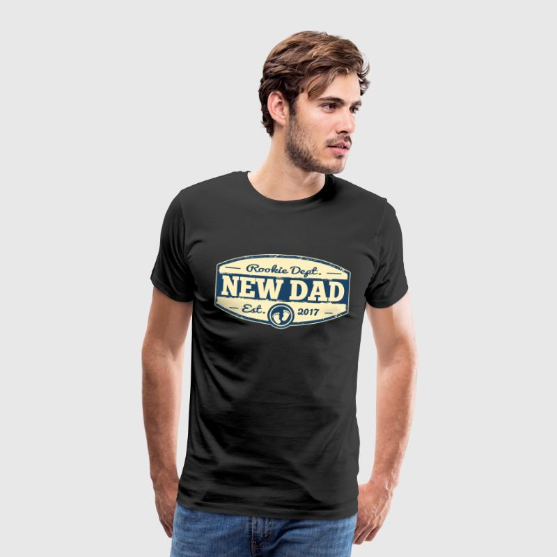 New Dad 2017 Rookie Dept  T-Shirts - Männer Premium T-Shirt