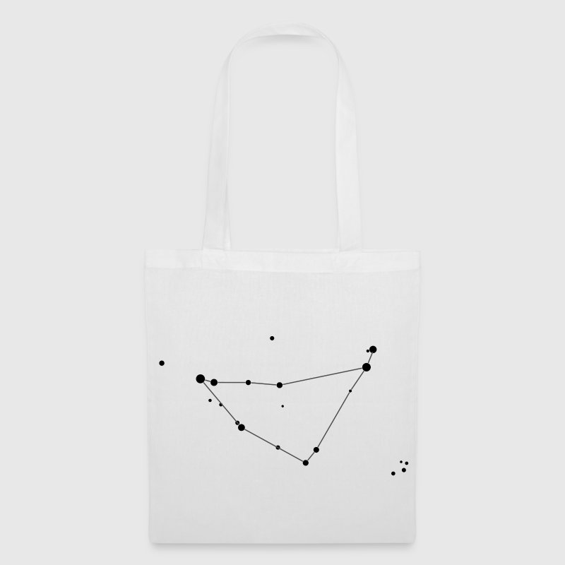White Capricorn Constellation Bags  - Tote Bag