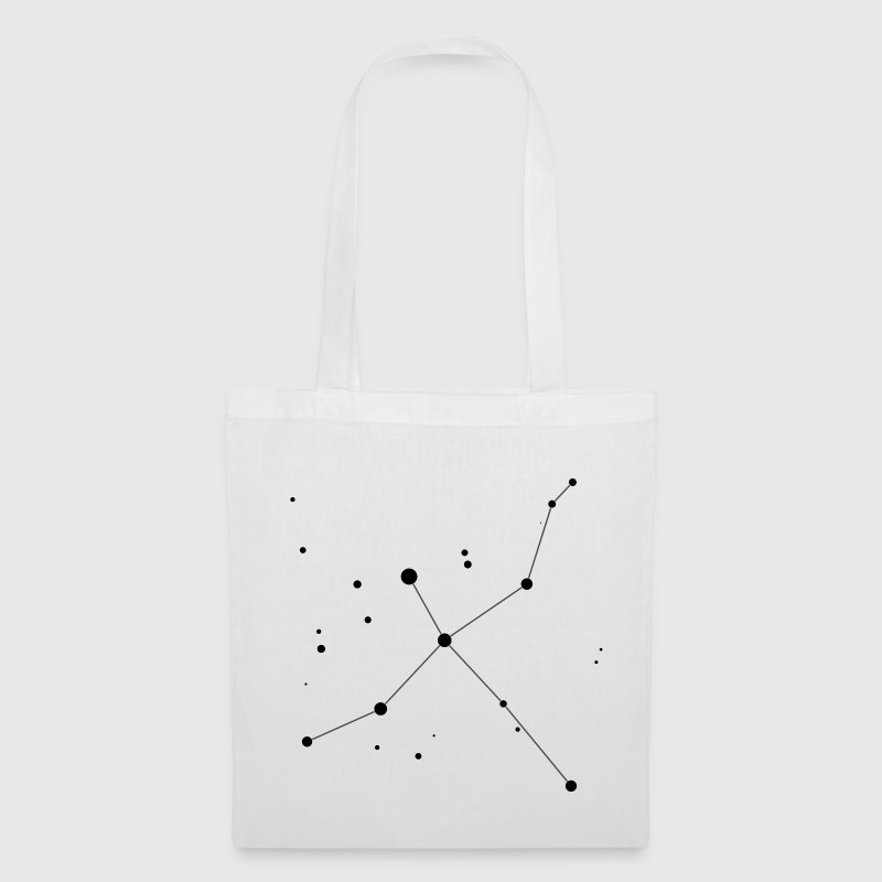 White Cygnus Constellation Bags  - Tote Bag