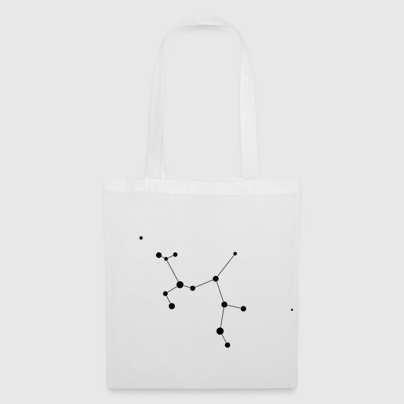 White Sagittarius Constellation Bags  - Tote Bag
