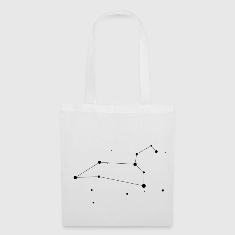 White Leo Constellation Bags  - Tote Bag