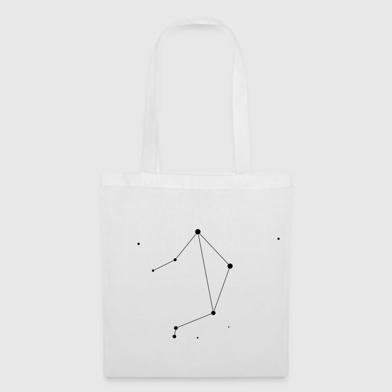 White Libra Constellation Bags  - Tote Bag