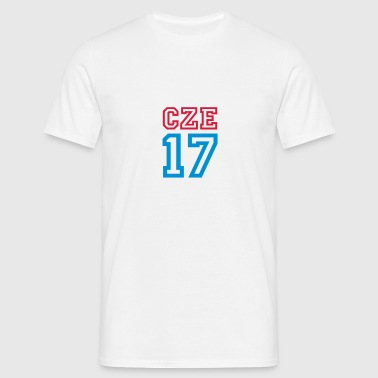 CZECH REPUBLIC 2017 - Men's T-Shirt