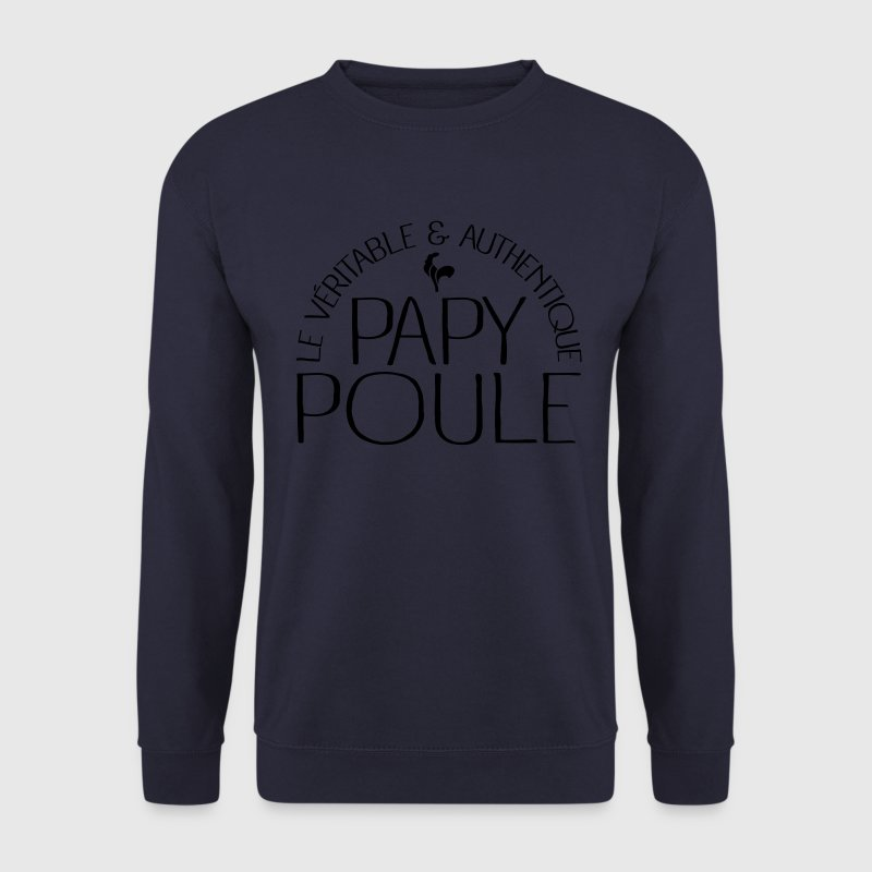 Papy Poule Sweat-shirts - Sweat-shirt Homme