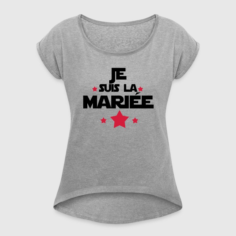 t shirt je suis la mari e spreadshirt. Black Bedroom Furniture Sets. Home Design Ideas
