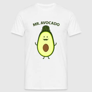 Mr. Avocado Badges - T-shirt Homme