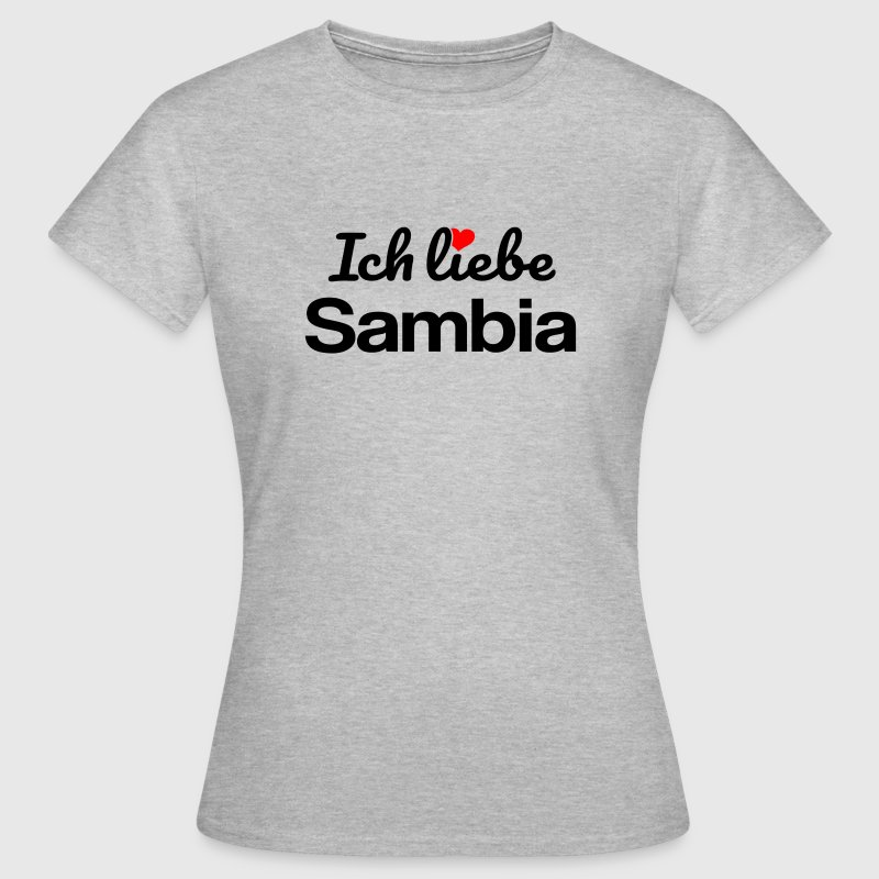 Sambia T-Shirts - Frauen T-Shirt