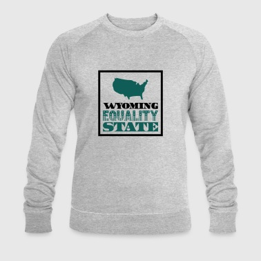 WYOMING EQUALITY STATE Tee shirts - Sweat-shirt bio Stanley & Stella Homme