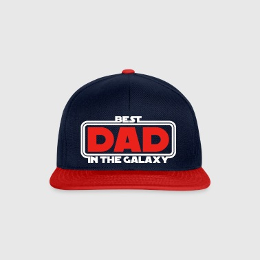 Best Dad in the Galaxy (dark) Bouteilles et Tasses - Casquette snapback